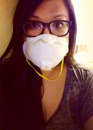 sunday do-it-your selfie - face mask