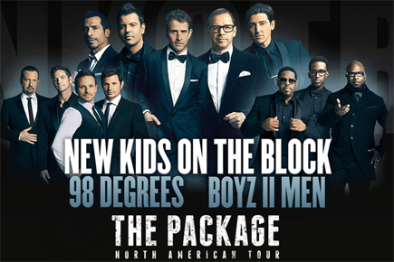 KNOTB 98 Degrees Boyz II Men Package Tour