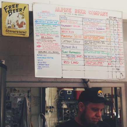 alpine beer company pub