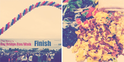 navy bay bridge run/walk - the mission soy chorizo