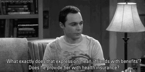 big bang theory - friends with benefits