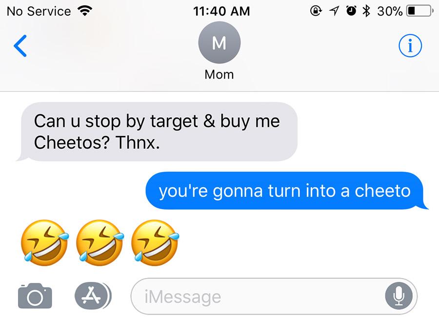 cheeto chat
