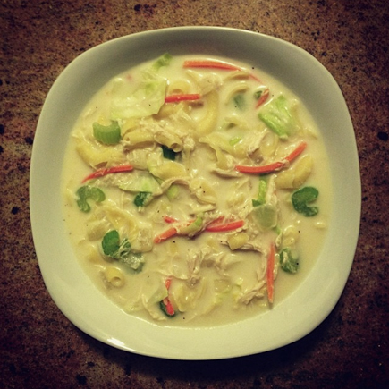 homemade chicken sopas