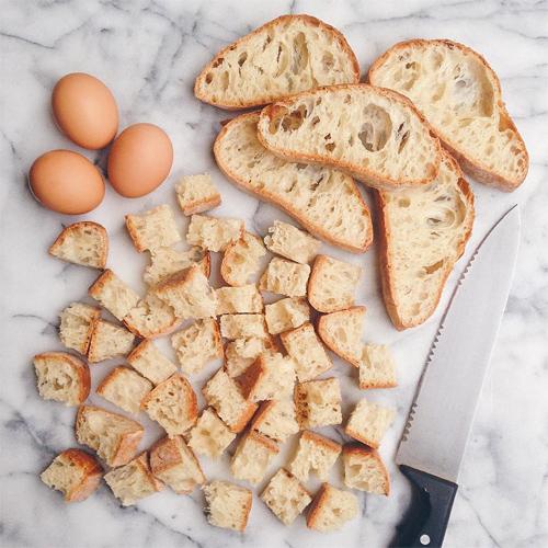 ciabatta bread pudding