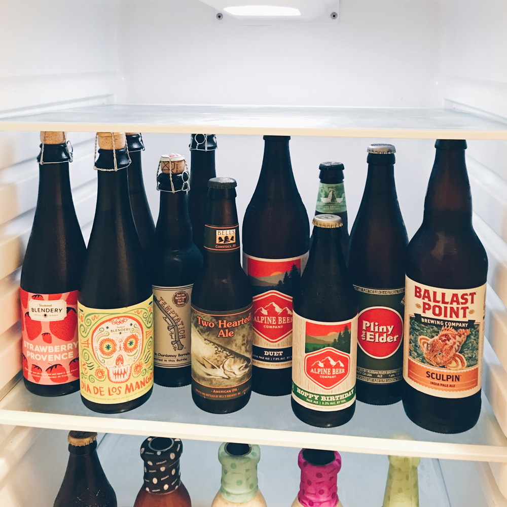 craft beer - the blendery - alpine brewing - pliny the elder - ballast point sculpin