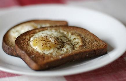 egg in a poke