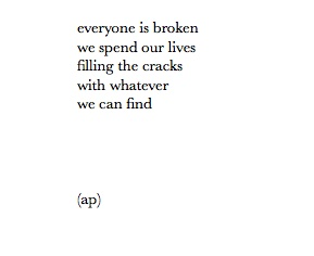 everyone is broken quote