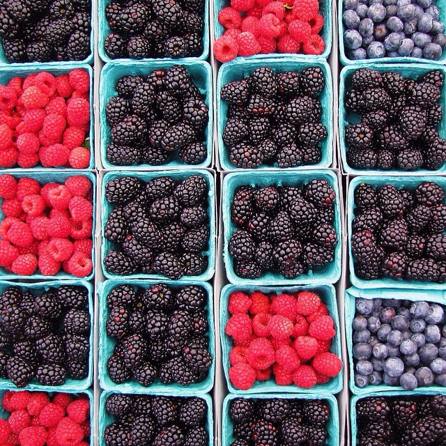 santa monica farmer's market berries