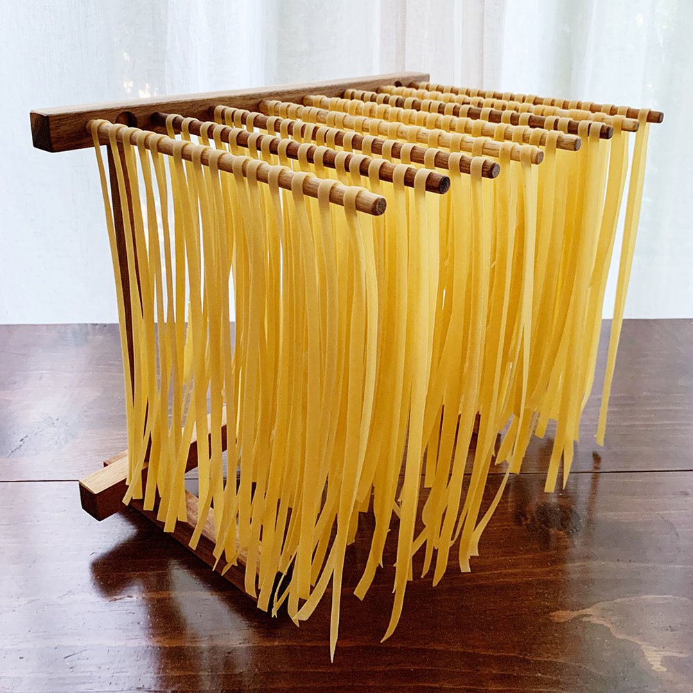 fettuccine pasta drying rack