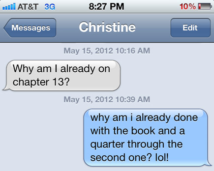 fifty shades of grey texts