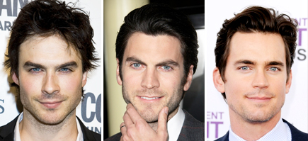 fifty shades of grey - christian grey - ian somerhalder wes bentley matt bomer