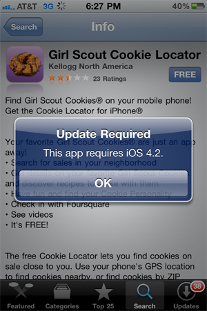 girl scout cookie locator app