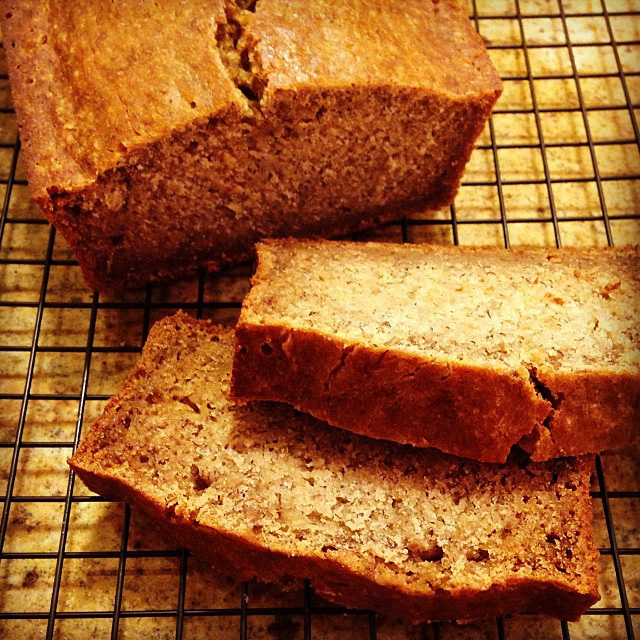 homemade gluten-free banana bread