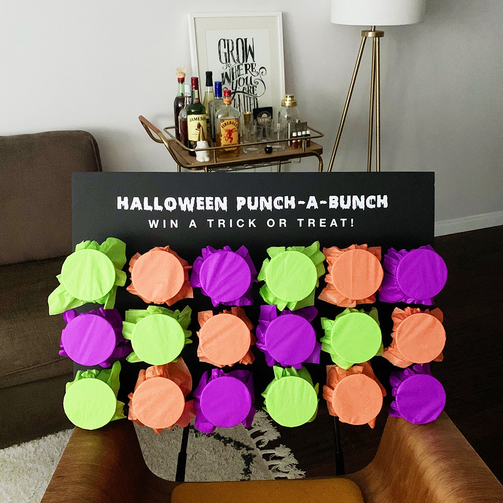 halloween punch-a-bunch