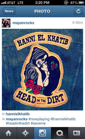 hanni el khatib head in the dirt instagram