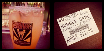 happy hour - hunger games