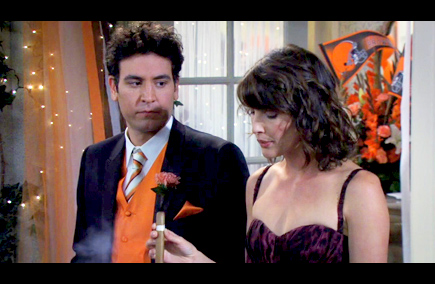 how i met your mother - the best man - chemistry and timing - robin sherbatsky
