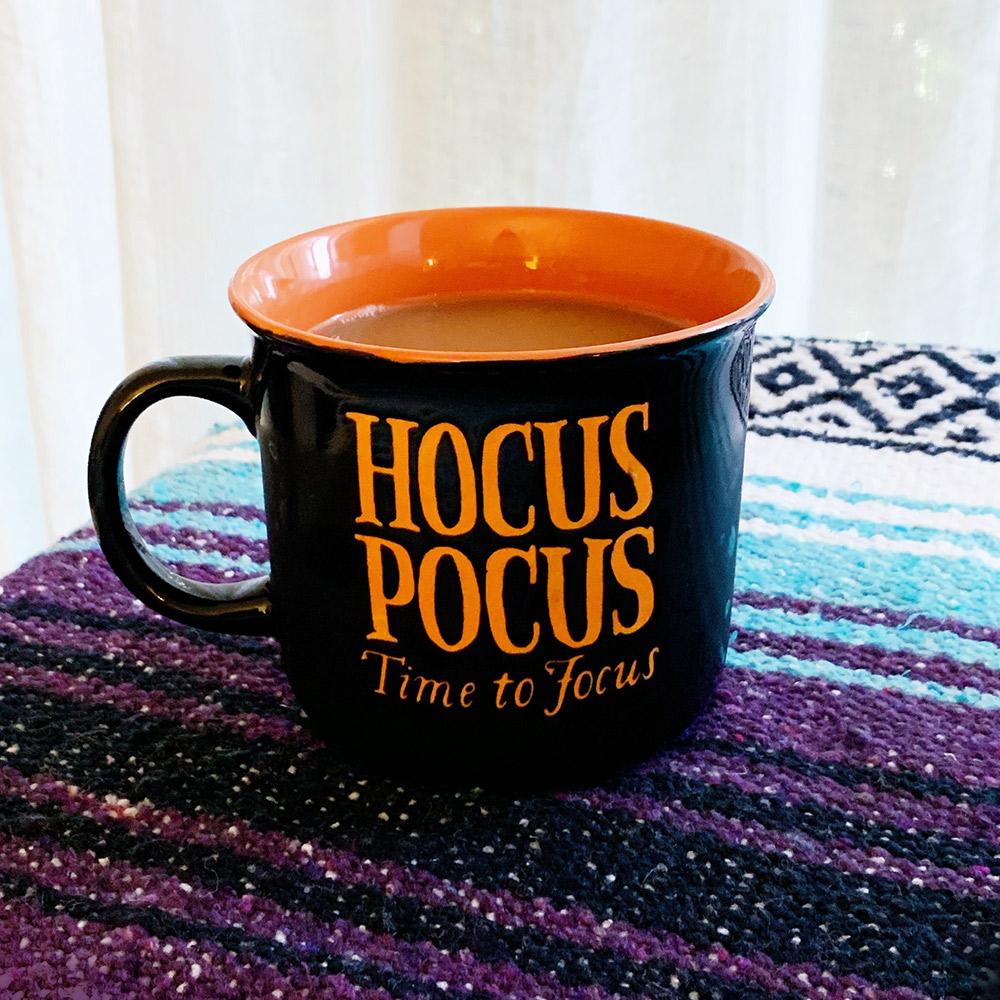 hocus pocus time to focus mug