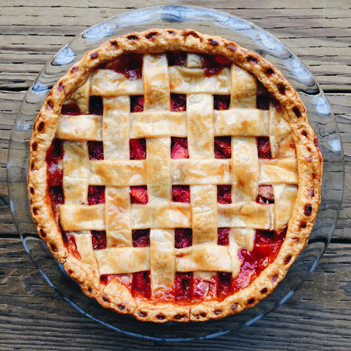homemade strawberry rhubarb pie - smitten kitchen