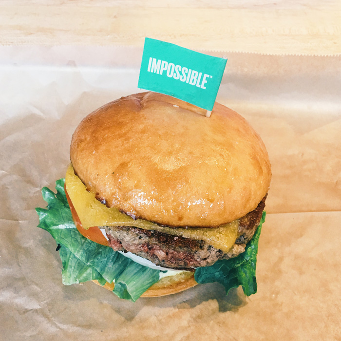 impossible burger - hopdoddy burger bar