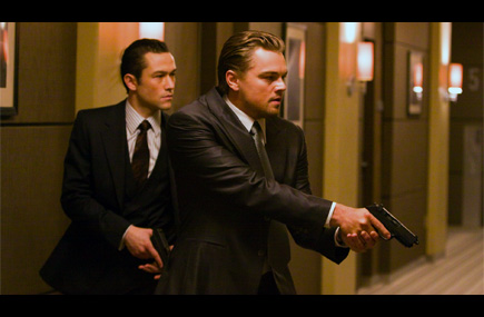 Inception Joseph Gordon Levitt Leo DiCaprio