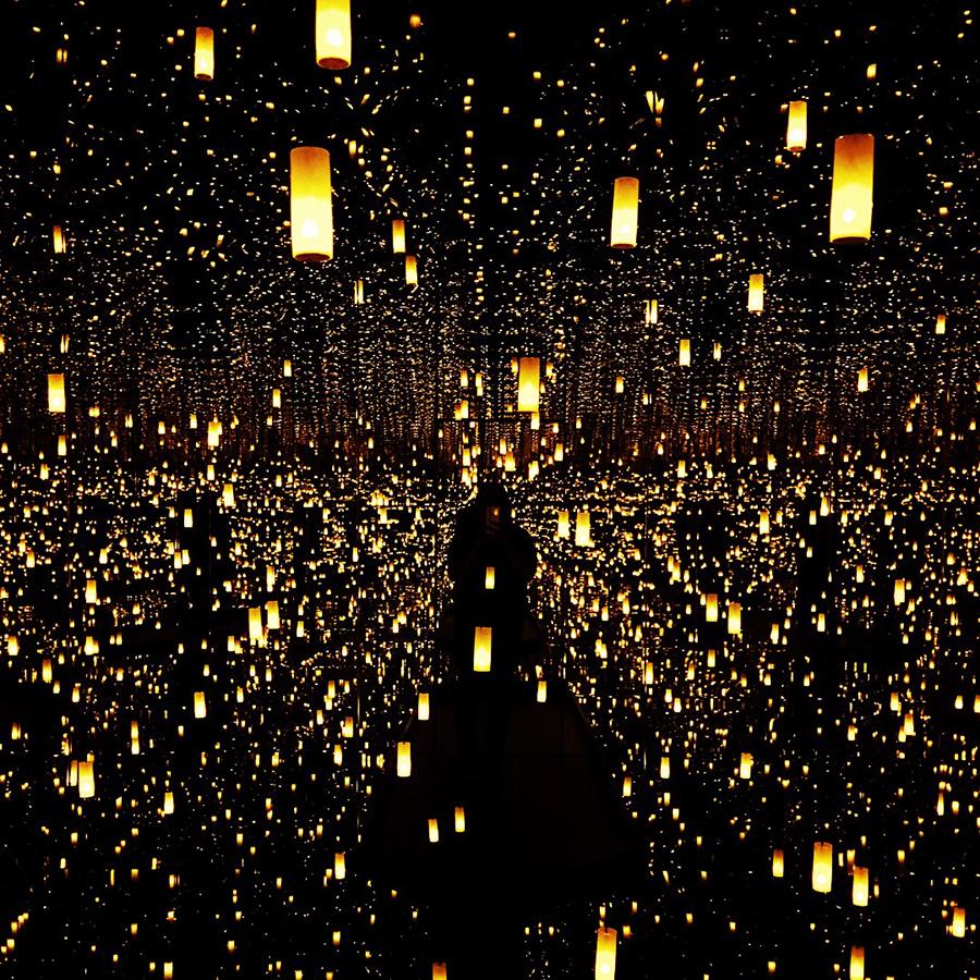 infinity mirrored room - yayoi kusama
