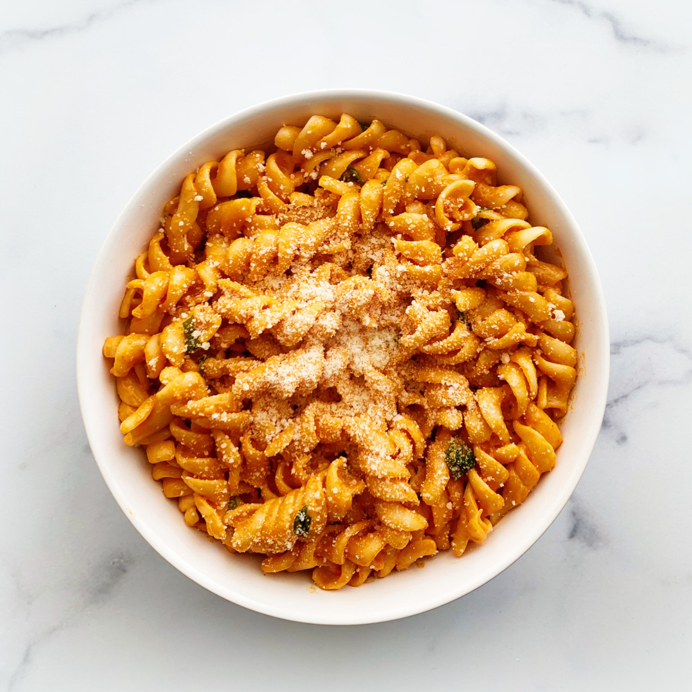 jon and vinny's spicy fusilli