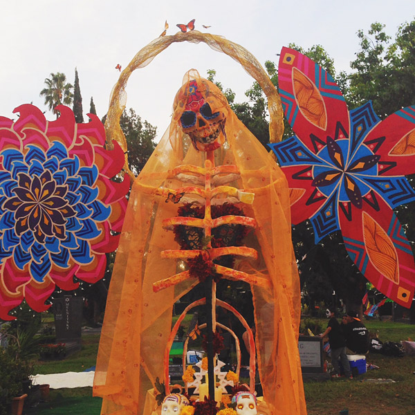 LA day of the dead 2015