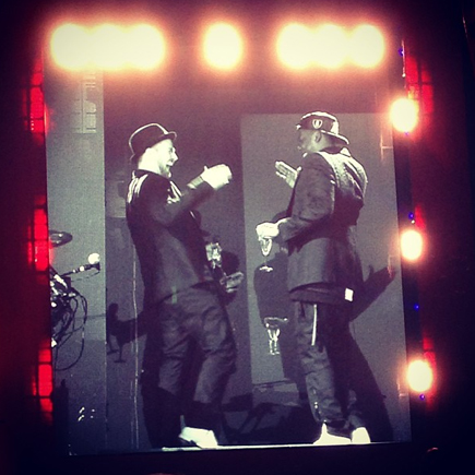 legends of summer tour - jay-z and justin timberlake
