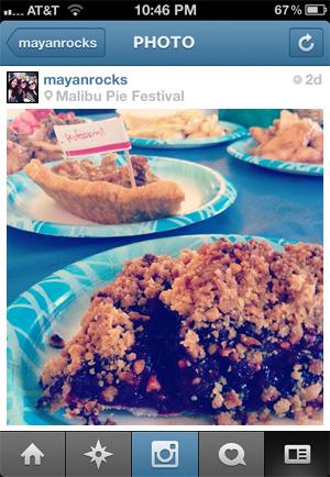 malibu pie festival 2012