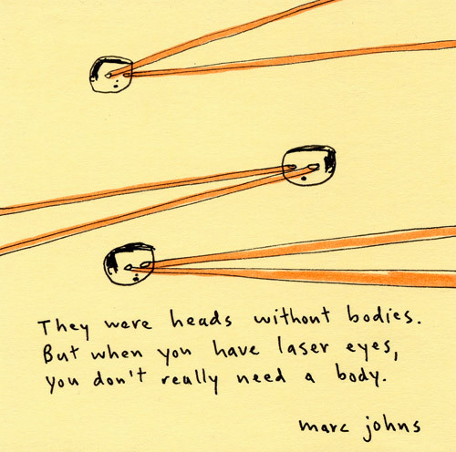 marc johns laser eyes