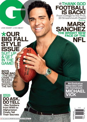 mark sanchez gq magazine