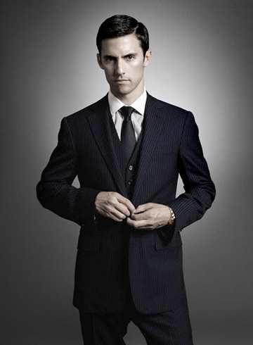 milo ventimiglia prestige magazine hot suit