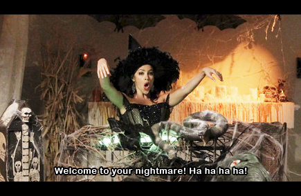 welcome to your nightmare ha ha ha ha modern family halloween gloria witch