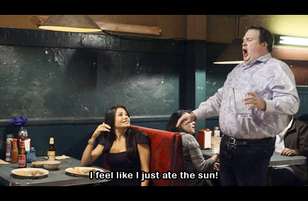 modern family - i feel like i just ate the sun - starry night