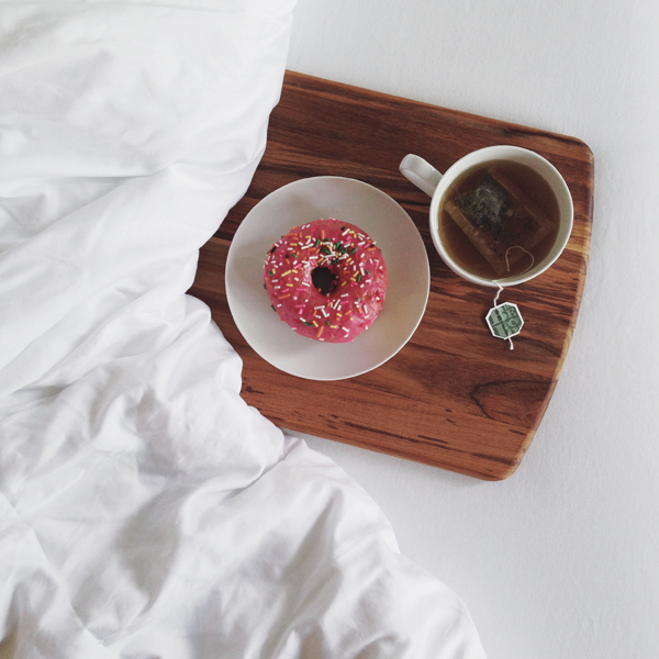 namast'ay in bed - california donuts - breakfast in bed