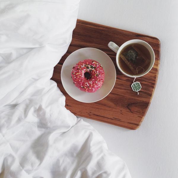 namast'ay in bed - california donuts - breakfast in bed
