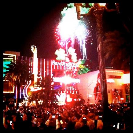 NYE 2012 Las Vegas