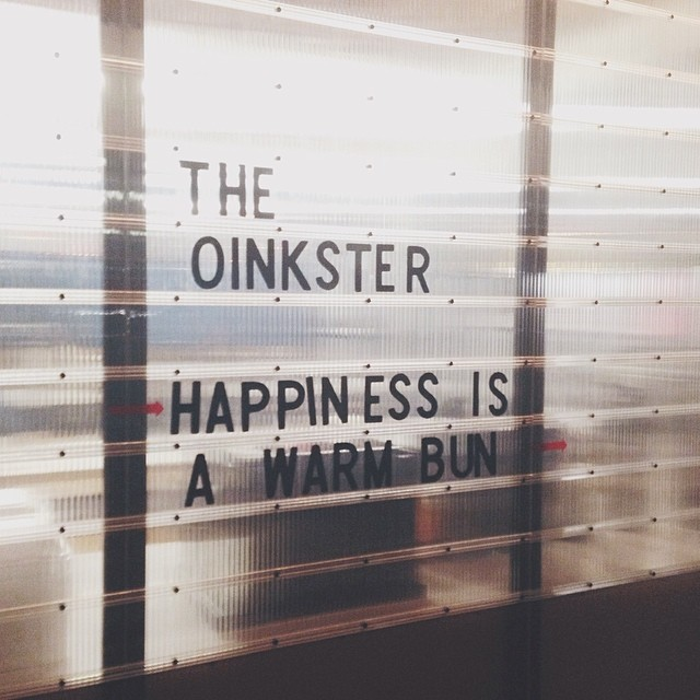 the oinkster - hollywood - happiness is a warm bun