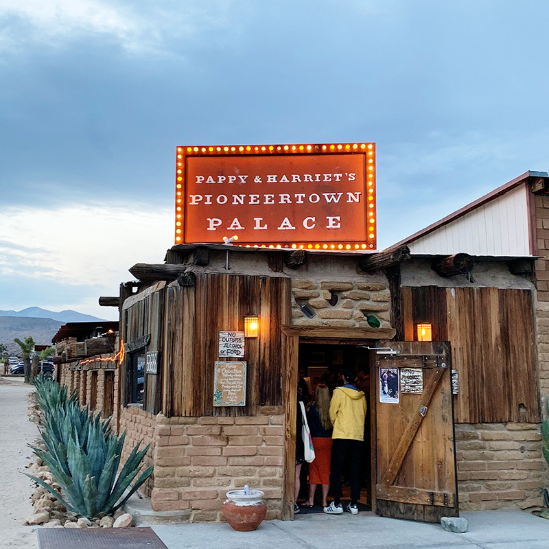 pappy and harriet's pioneertown palace