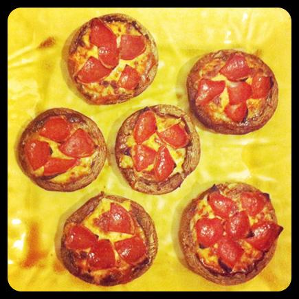 portobello pizza minis