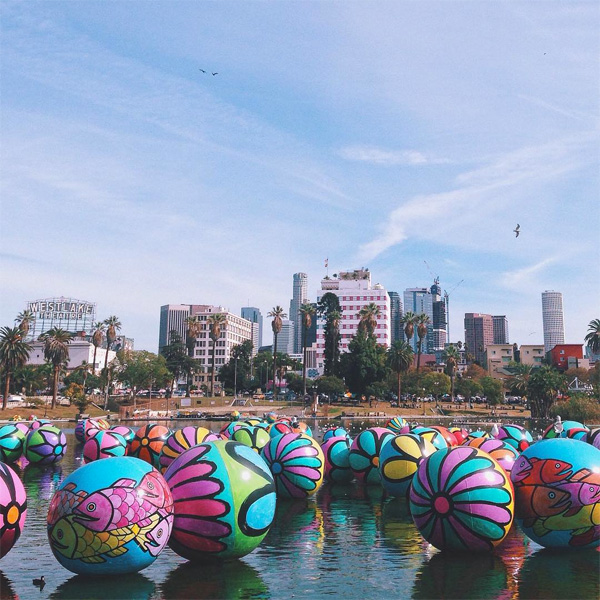 portraits of hope - the spheres at macarthur park