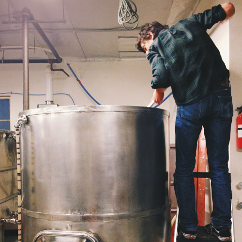 progress brewing mash tun