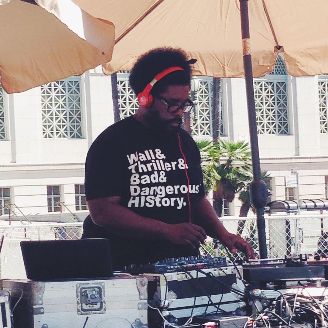 questlove - grand park - remember the time - michael jackson