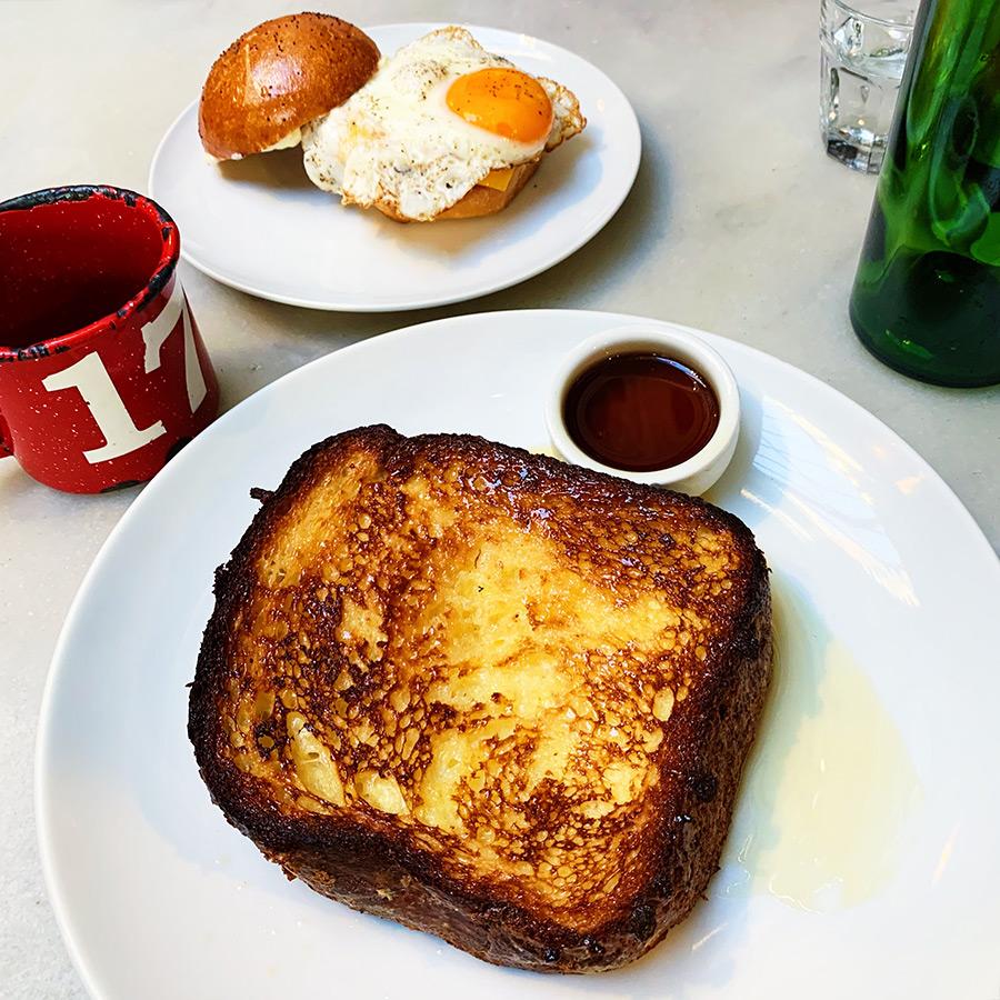 republique brunch brioche french toast