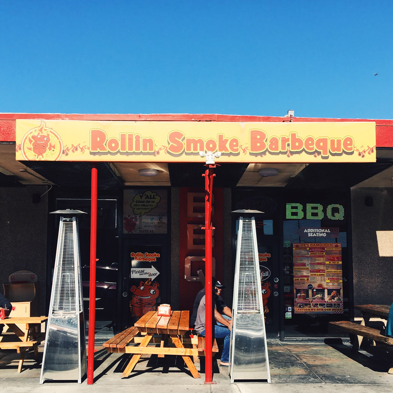 rollin smoke barbeque las vegas