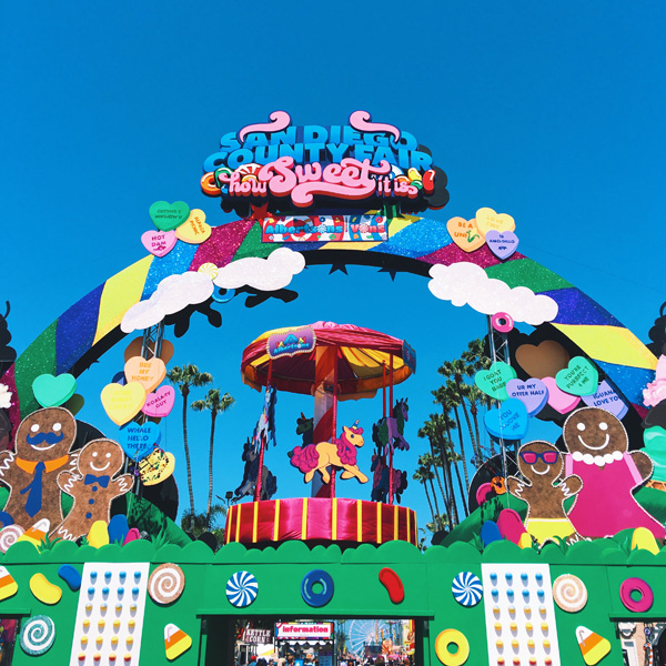 san diego county fair - entrance
