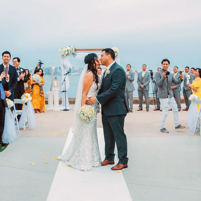shirley tejidor calvin sarno wedding