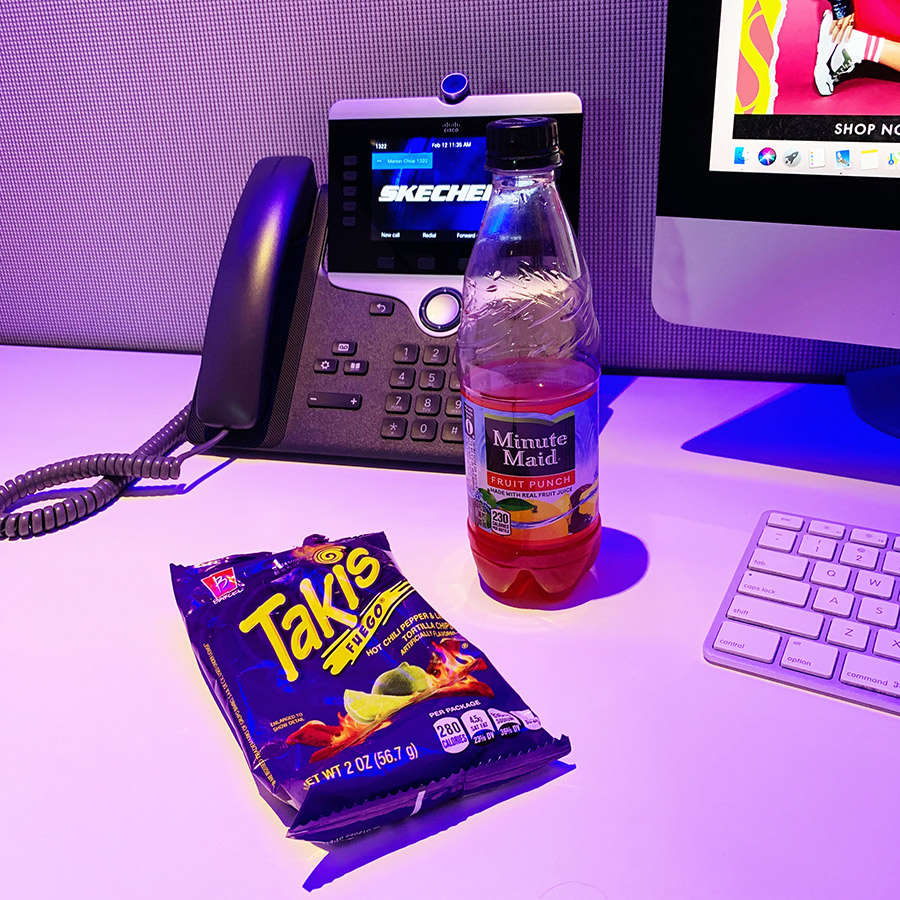 takis and fruit punch