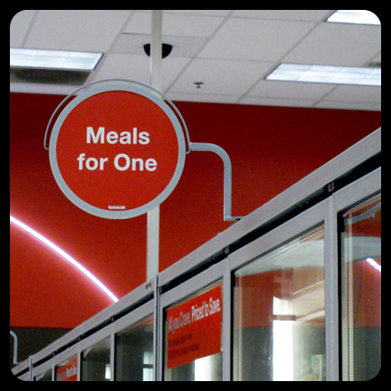 target meals for one forever alone